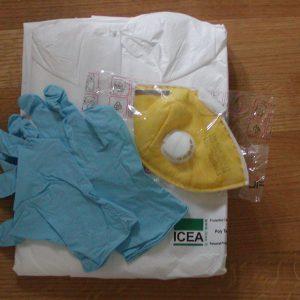 Kit individuale protezione virus e batteri