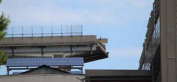 Ponte Morandi: domani via alla demolizione del ponte